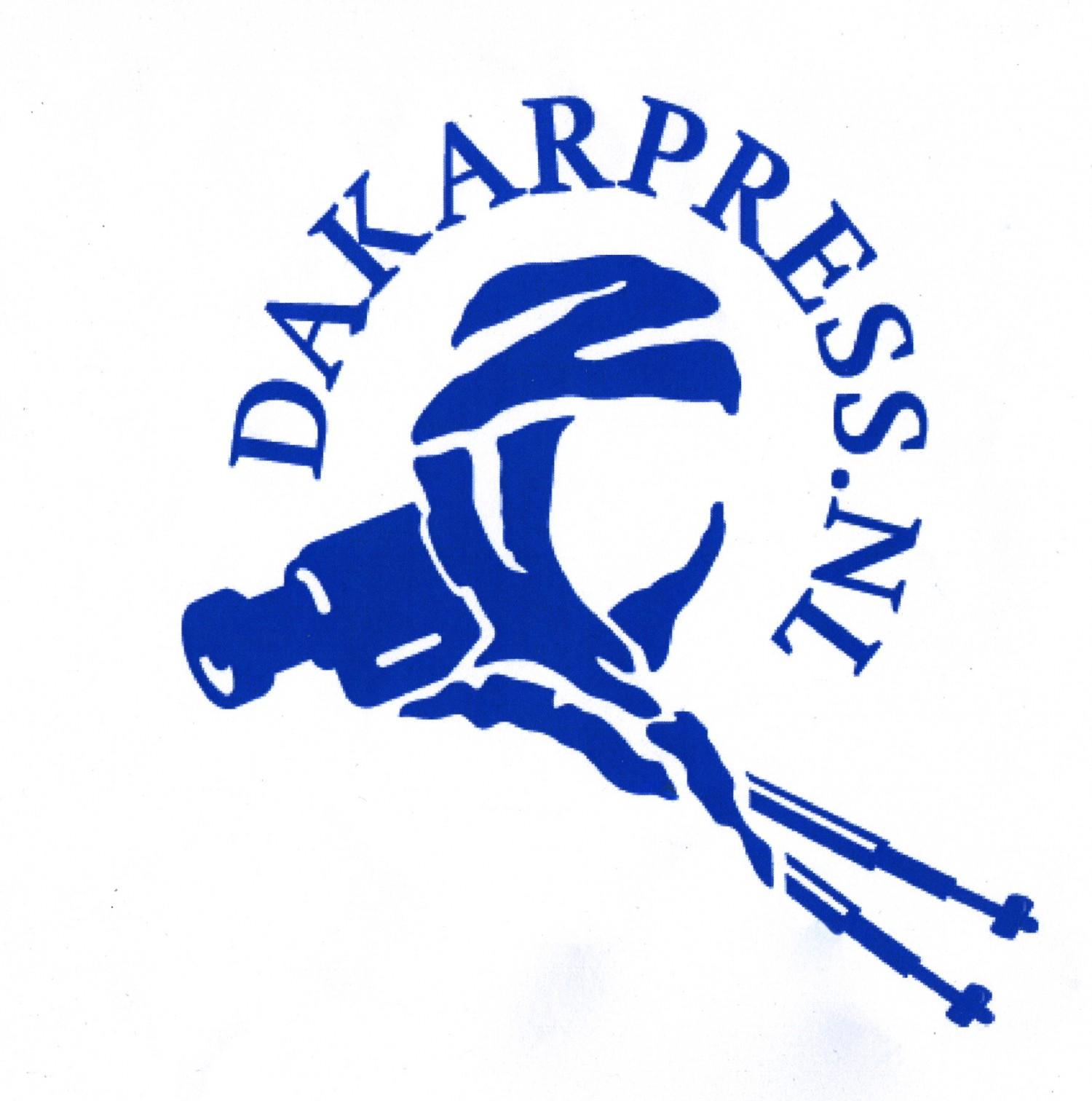 Dakar Press / Tuareg blue+title