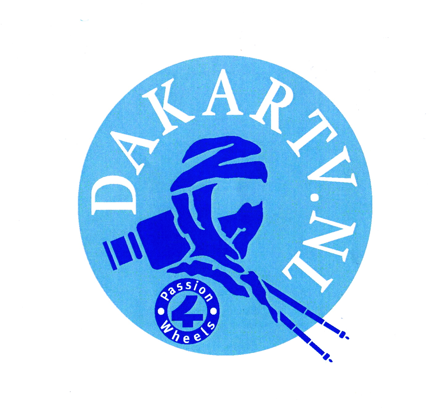 Dakar TV.NL   blue on blue